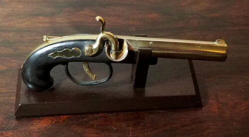 Vintage Novelty Cigarette Lighter Gun Pirate Derringer from Japan