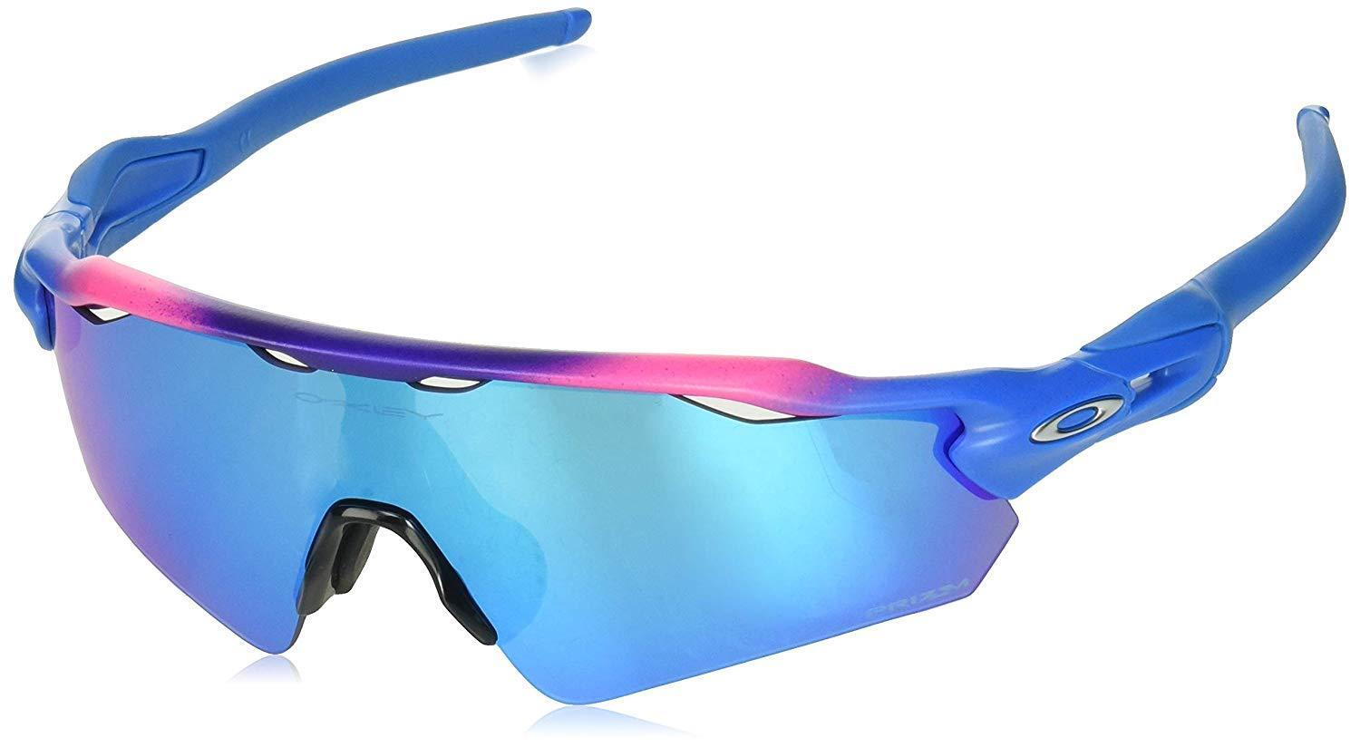 1fbd7f7795faa Details about Oakley Radar EV OO9275-23 Asia Fit Sunglasses Factory Fade  Prizm Sapphire 927523