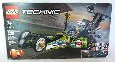 LEGO TECHNIC Dragster 42103 Pull-Back Racing Toy Building Kit, New in sealed box