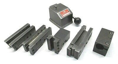 Kdk-100 Series Quick Change Lathe Tool Post W 5 Holders - 12 To 16 Swing