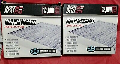 Lot of 2 New Cabin Air Filter CF10285 Toyota Best Air Filter High Performance