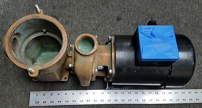 Scot Raw Water Pump 48378-2  Magnetek 1hp 60hz 230460 1-12 Npt