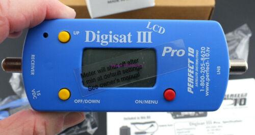 Digisat III Pro Alignment Meter with Accessories In Box