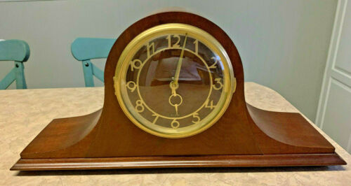 Vintage ~SETH THOMAS Medbury 4E Mantle Clock E701-000~ Chimes & Works