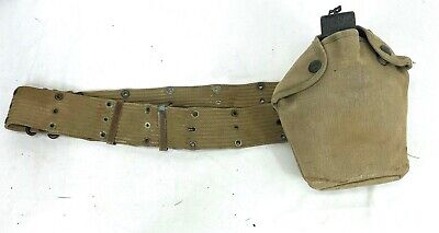 Vintage US Army Canteen & Belt
