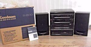 RETRO VINTAGE - GOODMANS MIDI HI-FI SYSTEM (FX8500)  ITS BRAND NEW