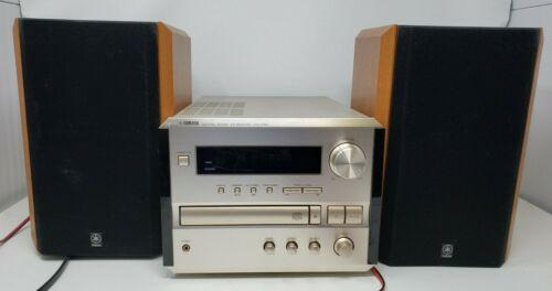 YAMAHA Natural Sound CRX-E150 Bookshelf CD Receiver W/ NX E150 Speakers WORKS