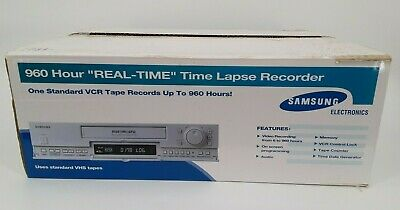 Samsung Ssc-960 Real Time Lapse Recorder Open Box Eb-5544