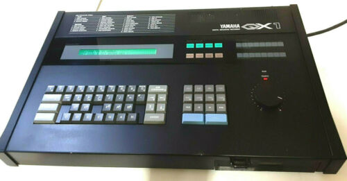 YAMAHA QX-1..1984.... SEQUENCER...384 Pulses Per Quarternote..Top of the Line!