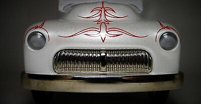 Ford Mercury Pedal Car 49 1950 51 Chopped Custom Hot Rod Rare Midget Metal Model