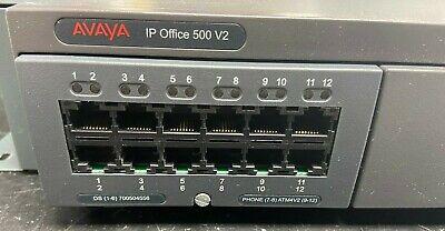 Avaya Ip Office 500v2 With Combo Card 700476005