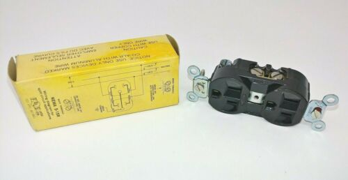 Hubbell Duplex Receptacle 15 Amp 125 Volt NEMA 5-15R 2 Pole 3 Wire USA Made