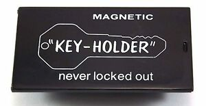 Magnetic Spare Key Case or Spare Key Holder