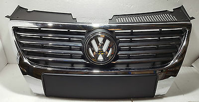 VW PASSAT B6 2005-2010 FRONT CHROME RADIATOR GRILL BRAND NEW