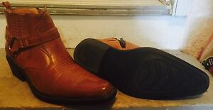 New Men Cowboy Boots Sz 7