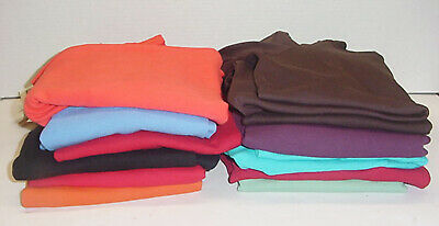 Three Dots Womens Long Sleeve Double V Neck Top Tee 12 Colors Pick Size & Color Sleeve Double V-neck Tee