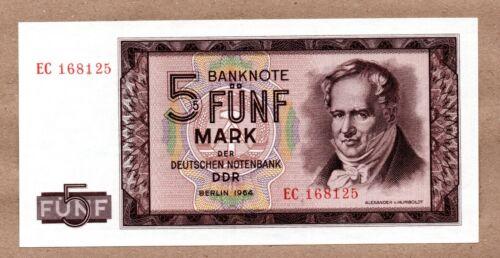 GERMANY DEMOCRATIC REPUBLIC - 5 MARK - 1964 - P22 - UNCIRCULATED