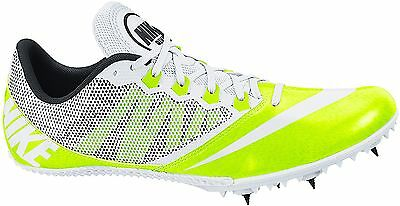 timeless design cfadb 1b3b9 NIKE ZOOM RIVAL S 7 TRACK SPIKES CLEATS (VOLT WHITE) - 616313-702 - NEW!  SIZE 12