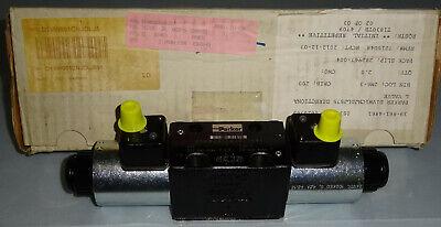 Parker D1vw001cnjdlj591 Solenoid Valve Hydraulic Directional Control 24v New