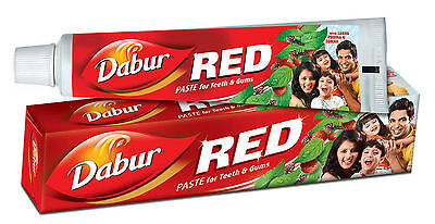 100 Gm Dabur Red Toothpaste Ayurvedic Dental Care Oral Care