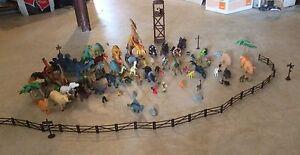Lot de dinosaurs
