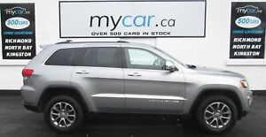 2015 Jeep Grand Cherokee Limited DUAL DVD pk, LEATHER, SUNROO...