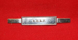 ROYAL-CANADIAN-AIR-FORCE-RCAF-Full-Size-Medal-Ribbon-Bar-Tangs