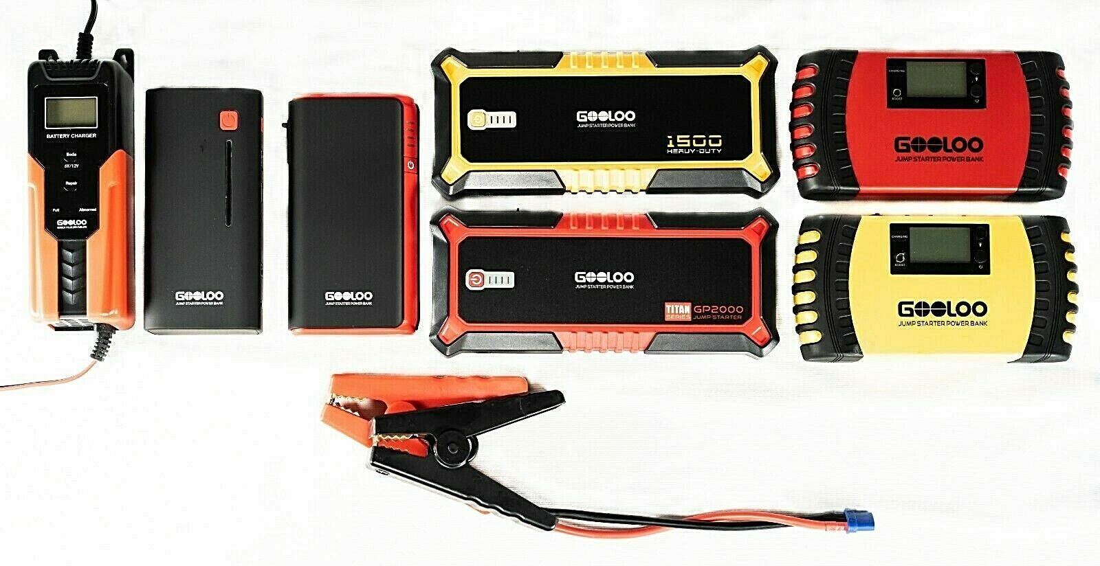 GOOLOO Jump Starter Smart Charger Super Safe Quick Charge Choose Model NIB Automotive Tools & Supplies