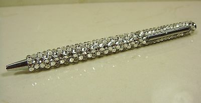 Clear Bling Diamonds Made With Swarovski Crystals Writing Touch Ball Point Pen