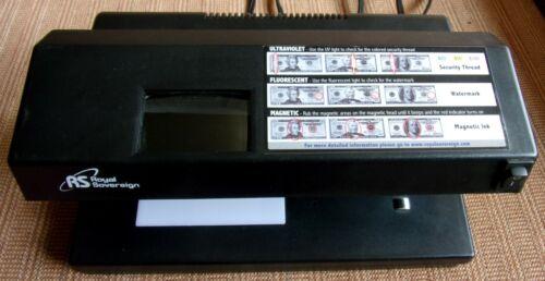 Royal Sovereign Four-Way Countertop Counterfeit Detector (RCD-2000) - Nice