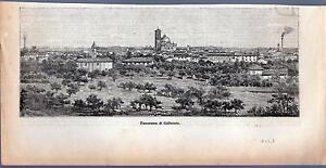 GALLARATE-VARESE-XILOGRAFIA-PANORAMA-LE-CENTO-CITTA-039-D-039-ITALIA-1896