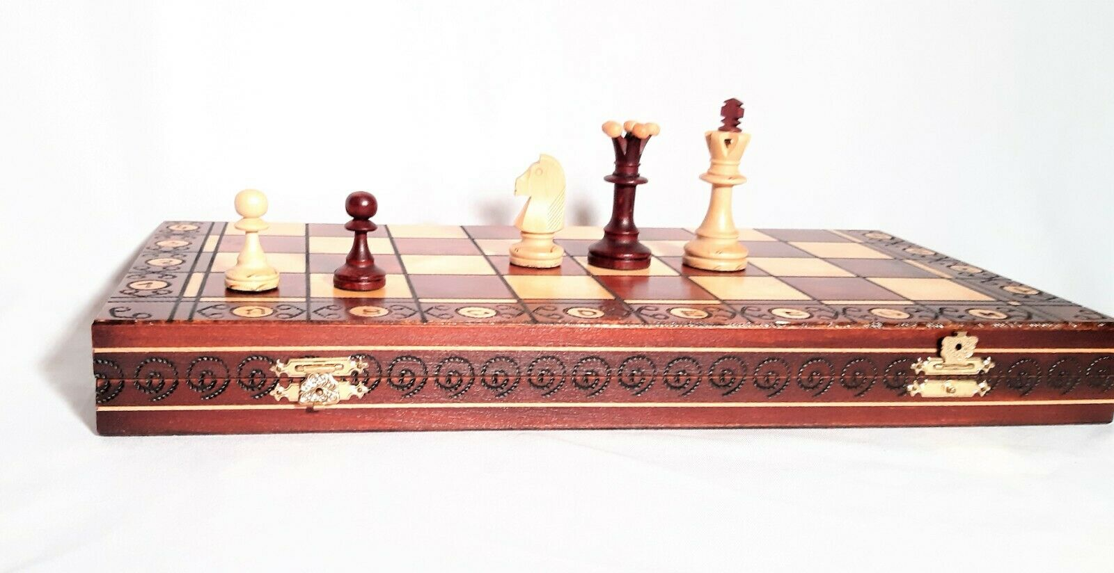 chess set consul chess pieces board wooden