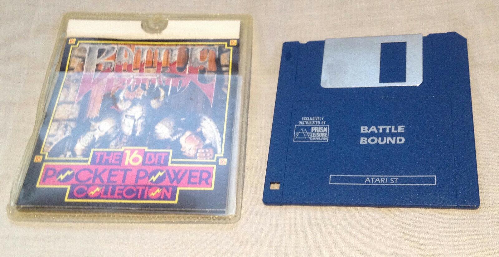retro computer games - BATTLE BOUND Atari STe ST video computer game retro vintage