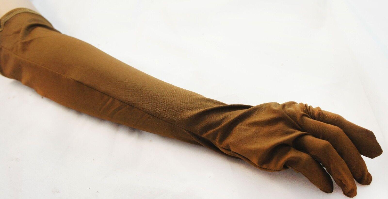 Lycra Spadex Zentai Elbow Gloves Costume Halloween Party Superhero ...