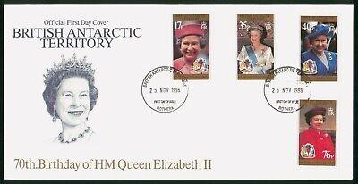 Mayfairstamps British Antarctic Territory 1996 QEII Birthday Combo First Day Cov