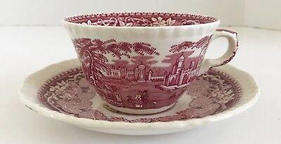 Vintage Mason's Patent Ironstone Vista Teacup and Saucer
