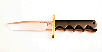 Blackjack Knives H.A.L.O. High Altitude Low Open Effingham, IL Orig Sheath NICE!