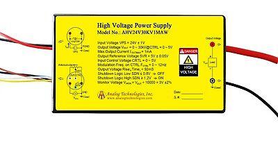 High Voltage Power Supply Ahv24v30kv1maw Linear Regulation Usa
