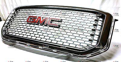 Chrome Denali Grille fits 2015-2017 GMC Yukon or Yukon XL GM PARTS 84119633 OEM