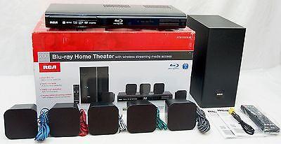 RCA RTB10323LW 200W Blu-ray/DVD WiFi Home Theater System Internet 5.1 Audio