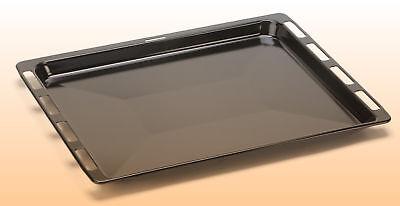 ORIGINAL Bosch Siemens Backofen Backblech emailliert 465x375x29mm Fettpfanne #02