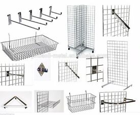 FASHION STORE Gridwall Fixtures & Fittings - like new.