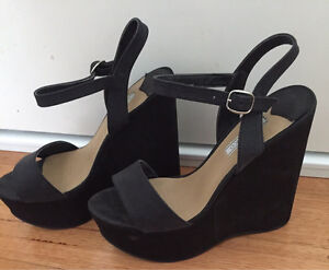 Tony Bianco platform wedges size 8.5 Clifton Hill Yarra Area Preview