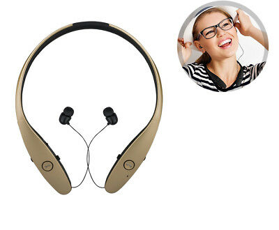 eCostConnection Bluetooth Headset/Headphones, Gold, Earbuds for iPhone, Android