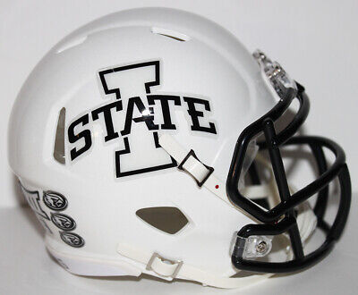 2019 Iowa State Cyclones Custom Riddell Mini Helmet v -