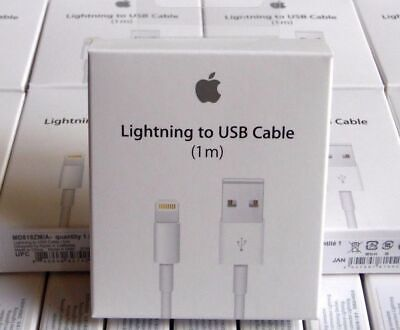 Apple iPhone Charger Cable Lead Lightning To USB Cable Charging Lead 2M 3M LONG