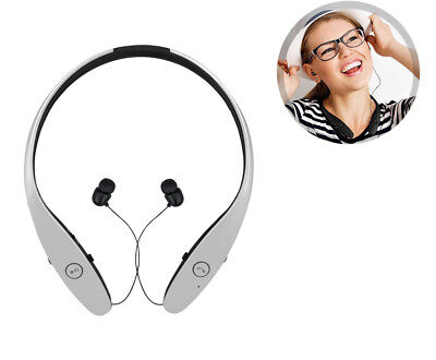 Bluetooth Headset/Headphones   White, Earbuds for iPhone, Android