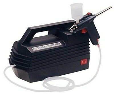 Tamiya 74520 Spray-Work Basic Air Compressor w/Airbrush For Model Paint Tools