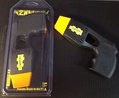 Black Halloween Costume Police Zapper TOY Taser Stun Gun W/ Lights & Sounds
