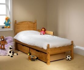 """Teddy bear"" Single Bed Frame (with bed-guard)"
